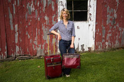 Samantha Brown - Official Samantha Brown Luggage photo shoot - 2014