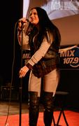 JoJo Levesque Performing at Megaplex 17 at Jordan Commons in Sandy, Utah on January 20, 2012