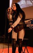 JoJo Levesque Performing at Megaplex 17 at Jordan Commons in Sandy, Utah on January 20, 2012