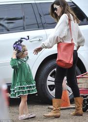 Michelle Monaghan at Mr.Bones Pumpkin Patch(10-?-12)