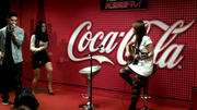JoJo (Joanna Levesque) performs Disaster in the 103.5 KISS FM Coca-Coca Lounge in Chicago (VIDEO) - November 1, 2011
