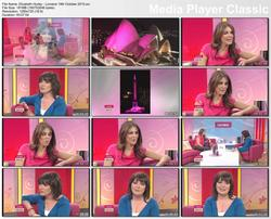 Elizabeth Hurley - Interview - Lorraine 19th October 2010 upscaled hd