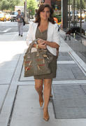 Tiffani Amber Thiessen - Out & About in NYC 7/19/11