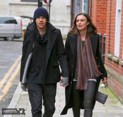 Keira Knightley strolling in London - January 14