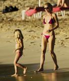beach girl foto