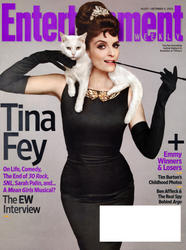 Tina Fey x4 Entertainment Weekly (US) 2012-10-05