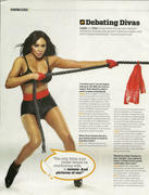 Eve Torres and Layla-WWE Magazine September 2010