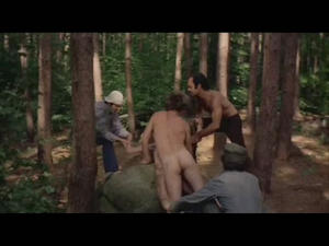 Brutal rape in the forest