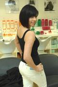 Roxanne Pallett  - Hair Salon 5th May 2009