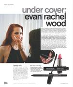 Evan Rachel Wood - Nylon - Nov 2010 (x11)