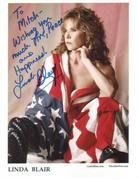 Linda Blair Sexy Autographed Photos