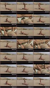 Pussy Liking On The Beach Femdom